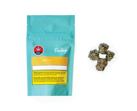 POOLBOY KING T (S) DRIED - 3.5G