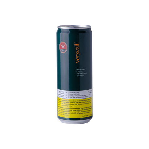 VERYVELL LEMON ICED TEA (H) BEV - 2.5MG CBD : 2.5MG THC