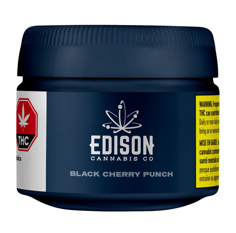 EDISON BLACK CHERRY PUNCH (IND) DRIED - 3.5G