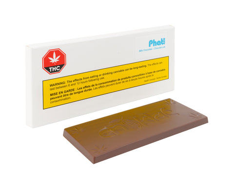 PHAT420 MILK CHOCOLATE (H) CHOC - 10MG THC