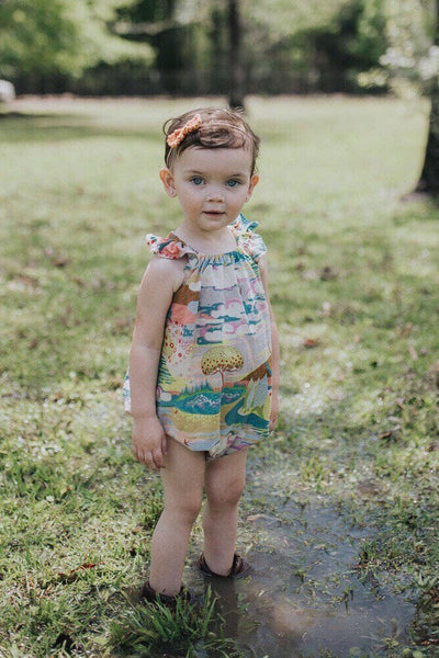 Enchanted Forest Romper