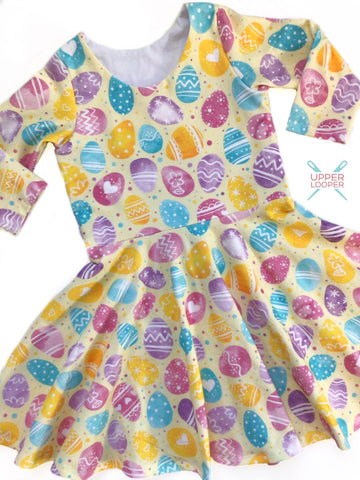 Easter Egg twirl dress