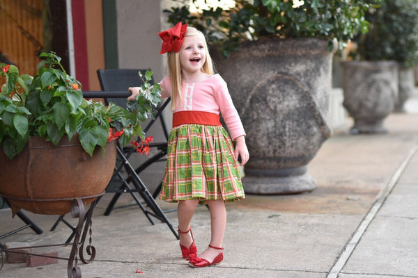 Classic Plaid Christmas Dress