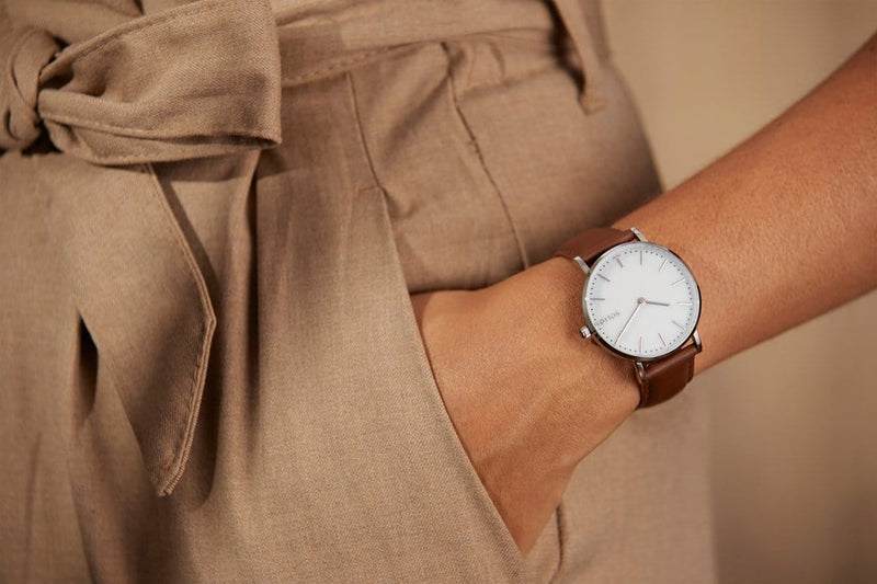 Solar watch sustainable watch minimalist watch for her collection women
