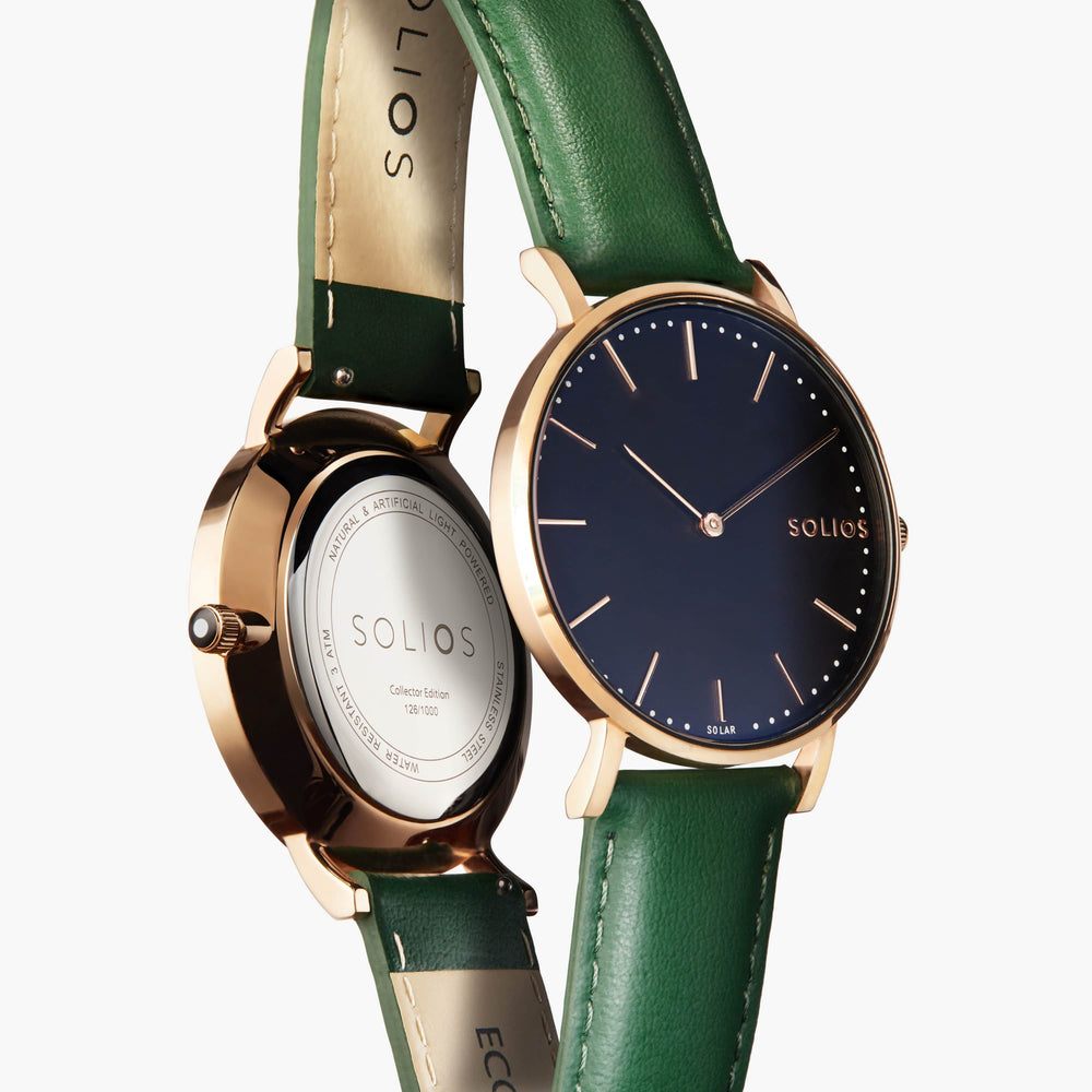 Solios store watch Eclipse | Green Eco