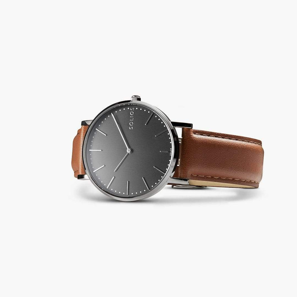 Solios store watch Lux | Brown Eco