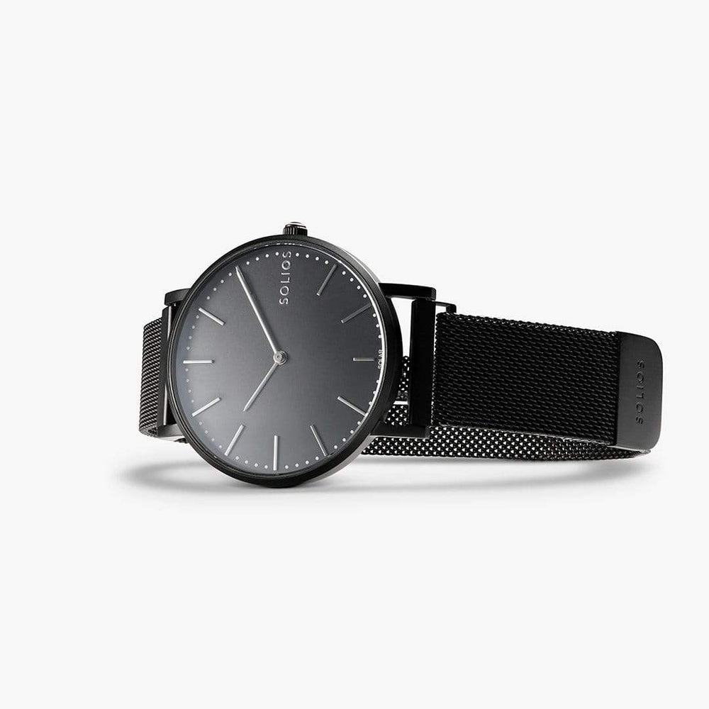 Solios store watch Nebula | Black