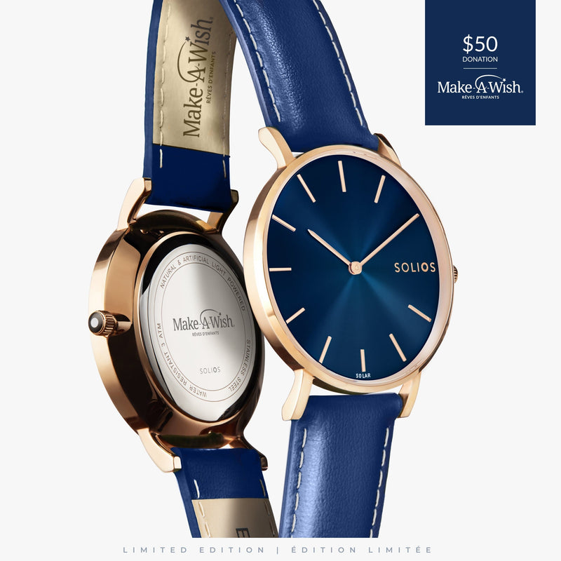 Solios Watches Make-A-Wish Edition - Gold