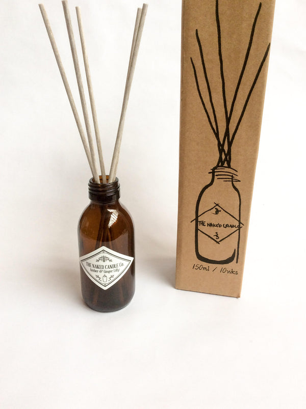 Reed Diffuser - Amber & Ginger Lilly