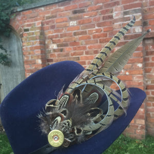 Large Feather Hat Pin