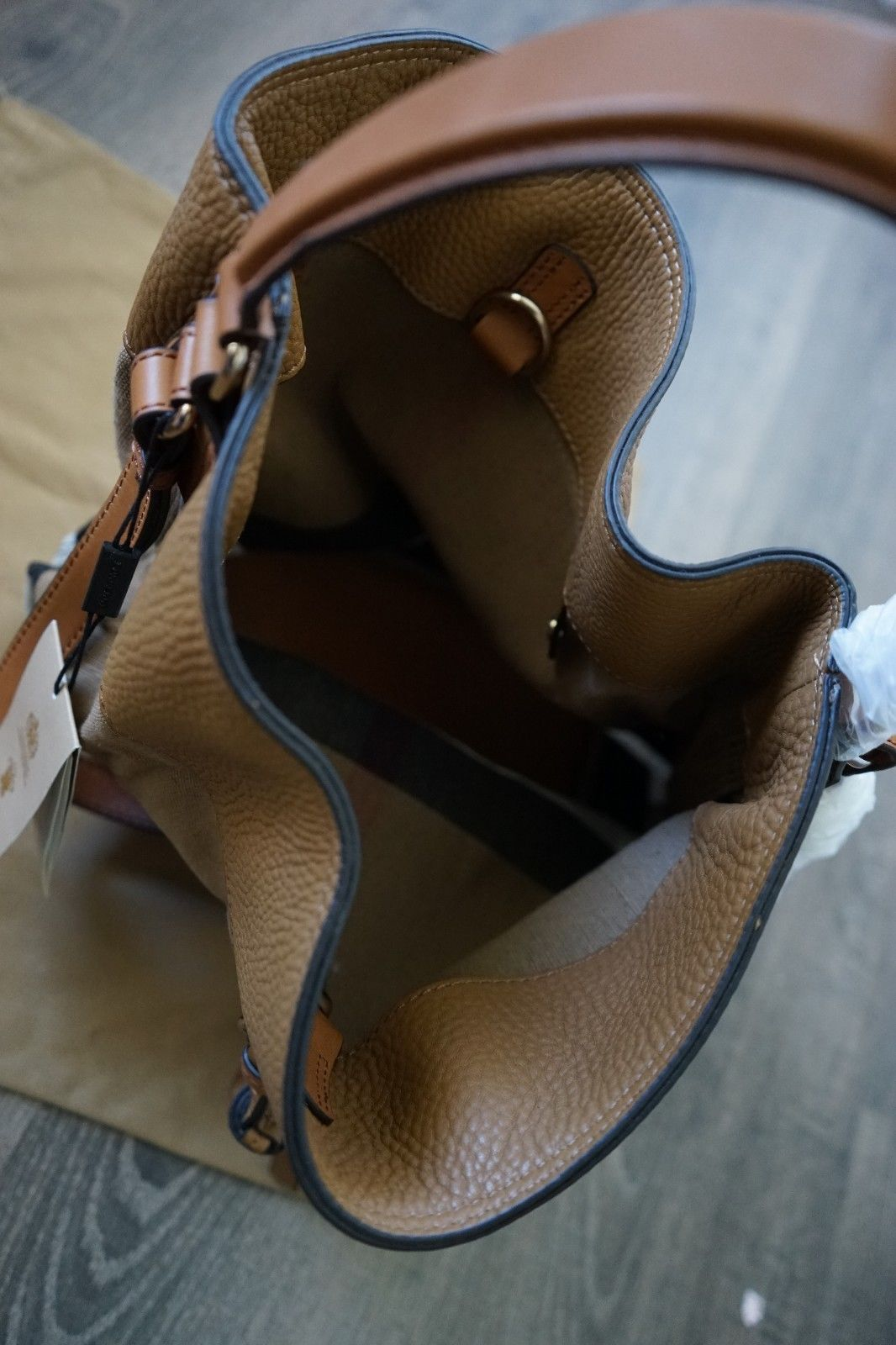 ... Load image into Gallery viewer, Authentic Burberry Medium Ashby in  Canvas Check and Leather Hobo ... 5dd1340875