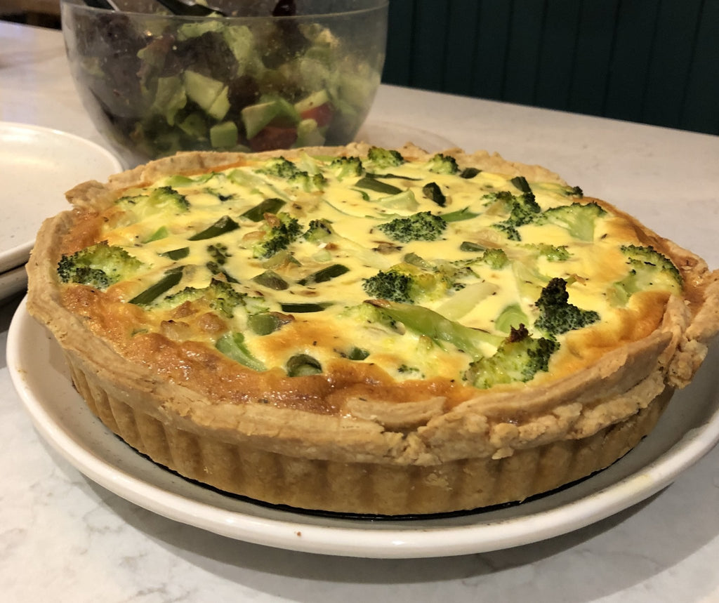 Summer in a Quiche | Romaine Calm Scotland