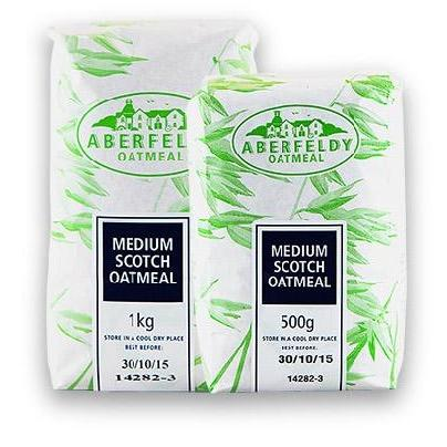 Aberfeldy Medium Oatmeal (1kg) - Romaine Calm Scotland