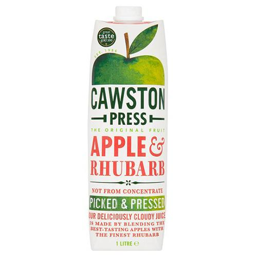 Apple & Rhubarb Juice (1 litre) - Romaine Calm Scotland