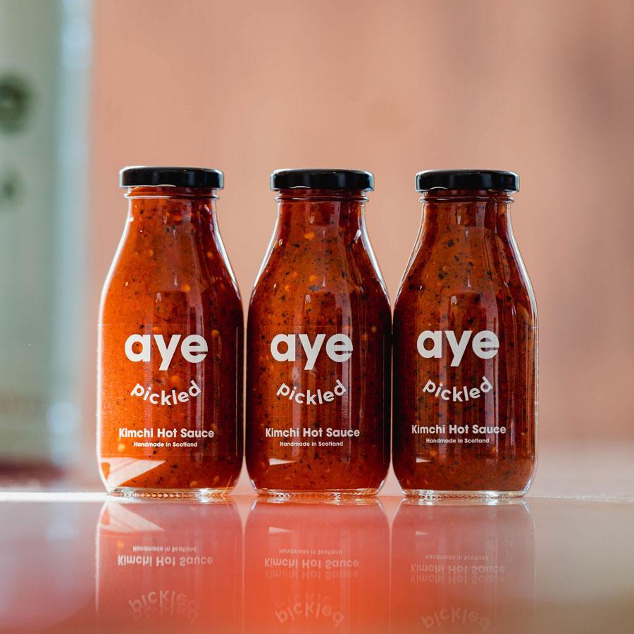 Aye Pickled - Kimchi Hot Sauce (250g) - Romaine Calm Scotland