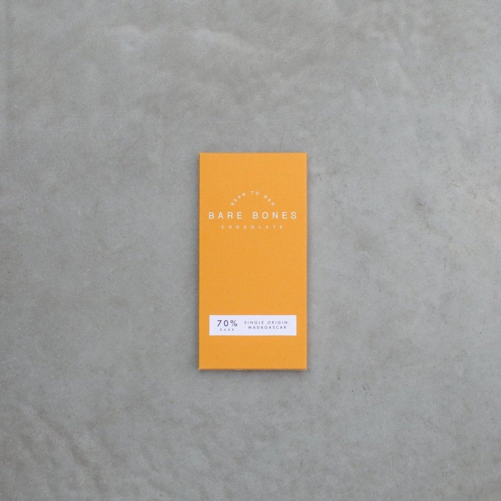 Barebones 70% Madagascar Dark Chocolate - 70g - Romaine Calm Scotland