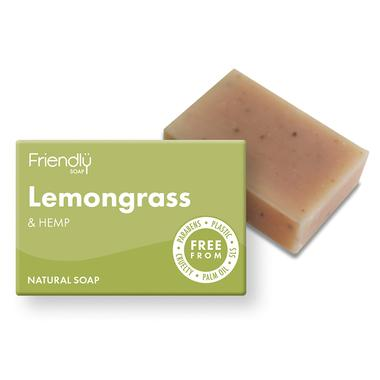 Bath Soap Lemongrass & Hemp (95g) - Romaine Calm Scotland