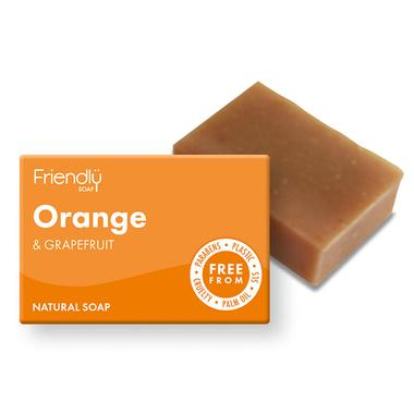 Bath Soap Orange + Grapefruit (95g) - Romaine Calm Scotland