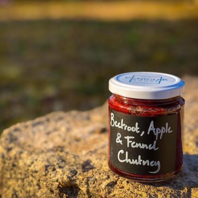 Beetroot, Apple + Fennel Chutney (8oz) - Penicuik House - Romaine Calm Scotland