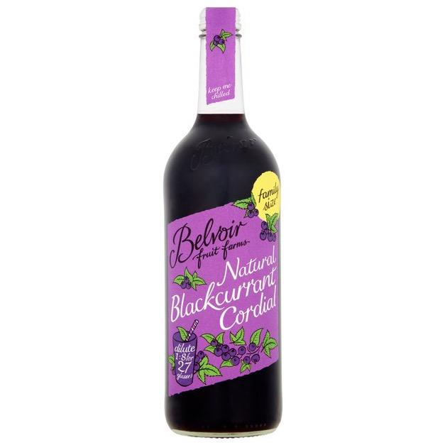 Belvoir Blackcurrant Cordial (750ml) - Romaine Calm Scotland