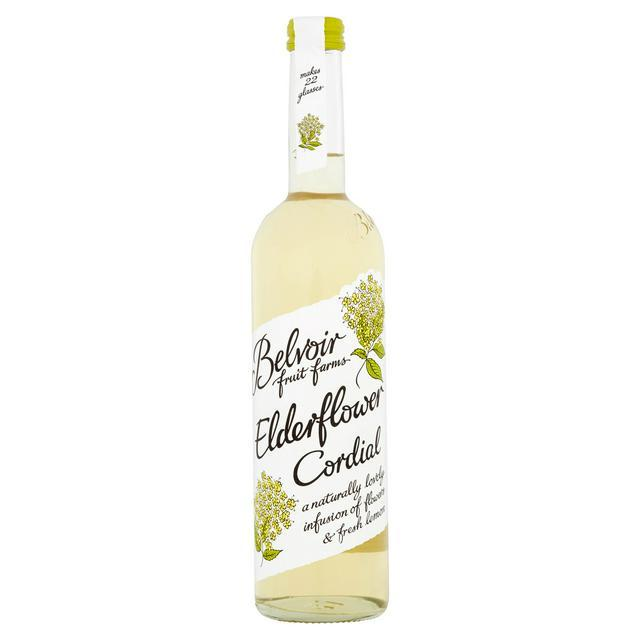 Belvoir Elderflower Cordial (500ml) - Romaine Calm Scotland