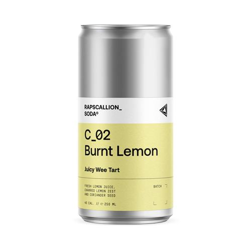 Burnt Lemon Soda - Rapscallion (250ml) - Romaine Calm Scotland