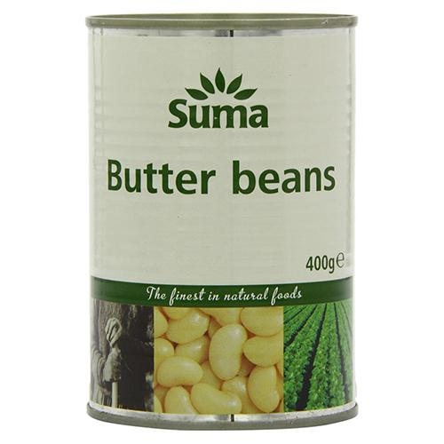 Butter Beans (400g) - Romaine Calm Scotland