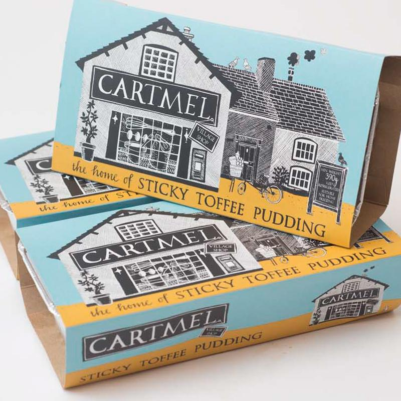 Cartmel Sticky Toffee Pudding (250g) - Romaine Calm Scotland