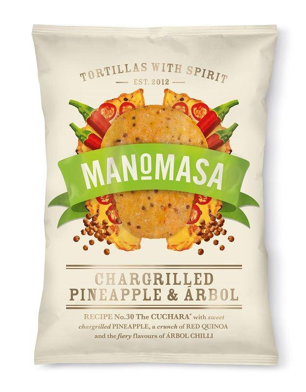 Chargrilled Pineapple & Árbol, ManoMasa (160g) - Romaine Calm Scotland