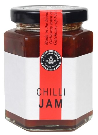 Chilli Jam Galloway Lodge (200g) - Romaine Calm Scotland