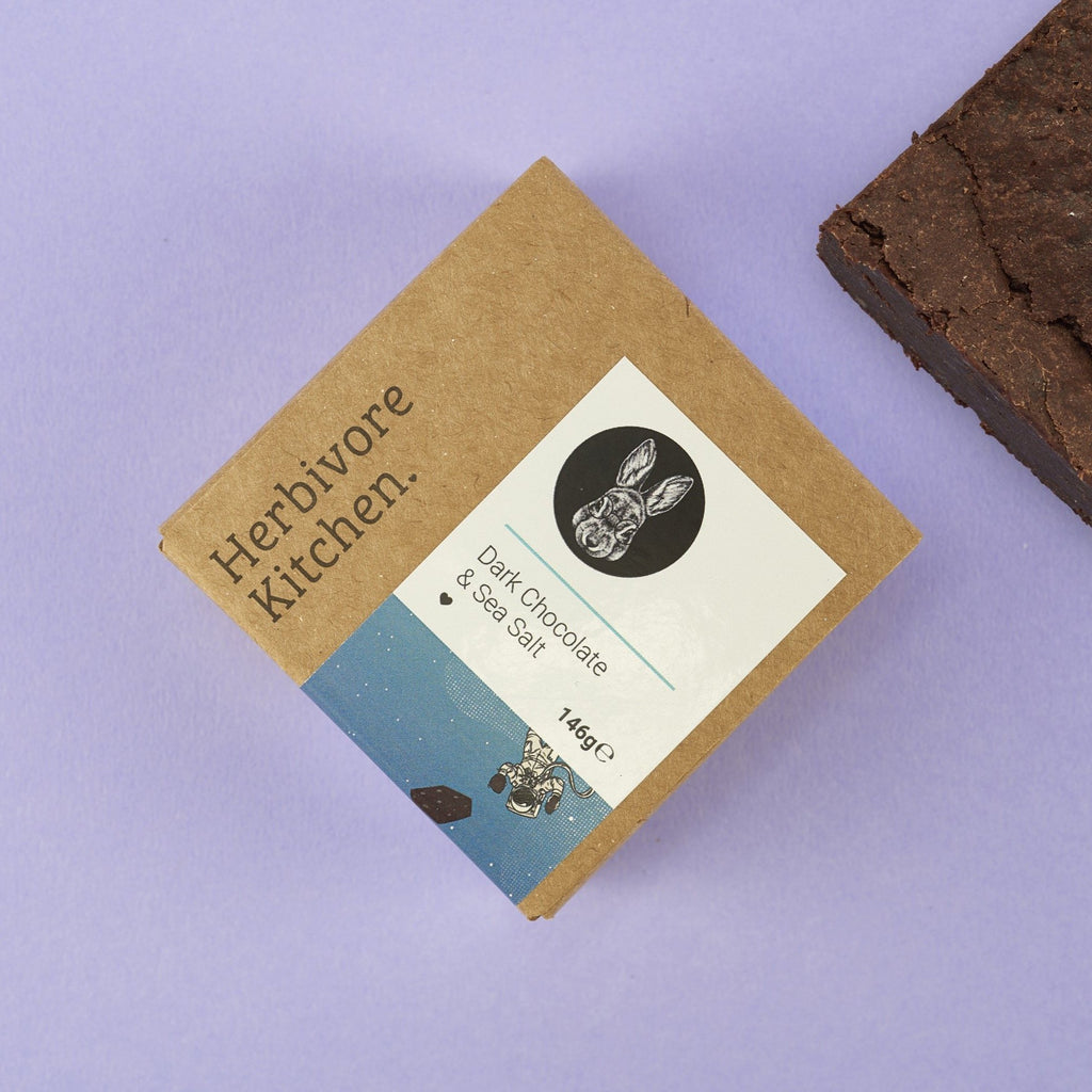 Chocolate Brownie - The Herbivore Kitchen - Romaine Calm Scotland