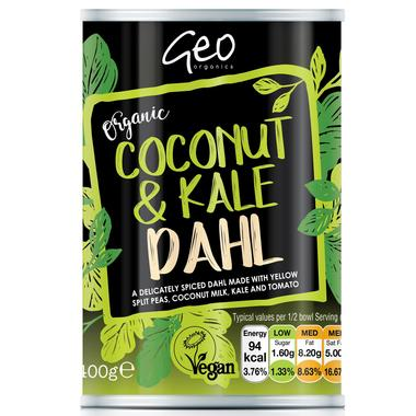 Coconut & Kale Dahl (400g) - Romaine Calm Scotland