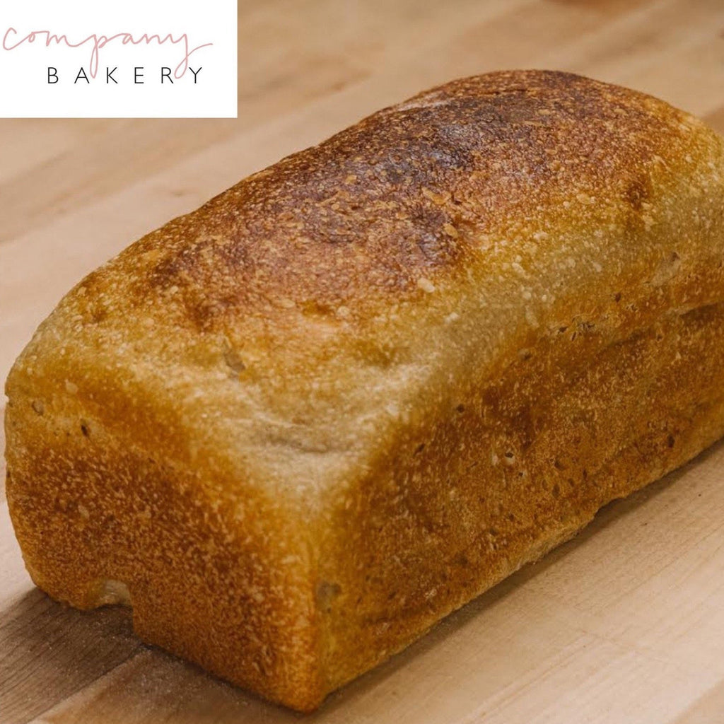 Company Bakery - White Tin Loaf 1kg - Romaine Calm Scotland