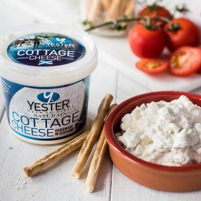 Cottage Cheese - Yester Dairy (300g) - Romaine Calm Scotland