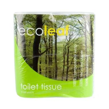 Ecoleaf Toilet Rolls (12 Rolls) - Romaine Calm Scotland