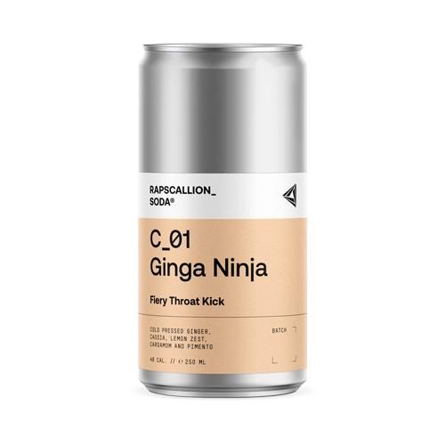 Ginga Ninja Soda - Rapscallion (250ml) - Romaine Calm Scotland