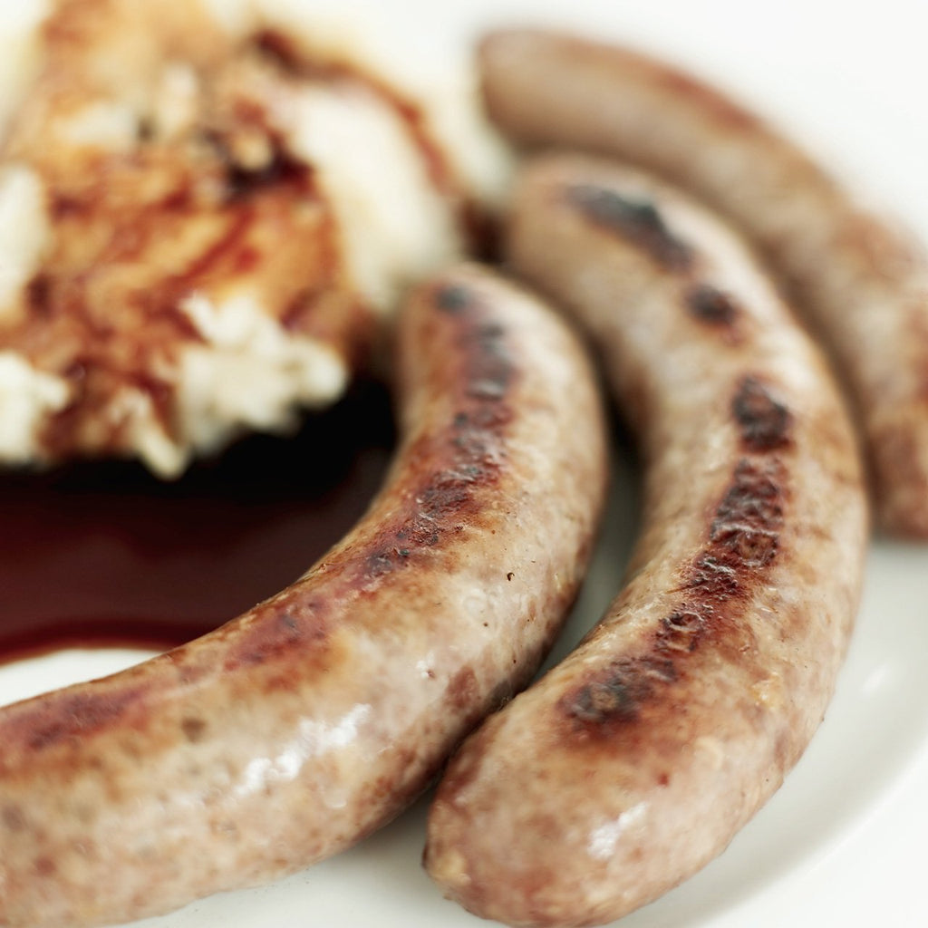 Gluten Free Pork Sausages (250g) - Romaine Calm Scotland