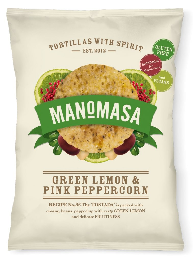 Green Lemon and Pink Peppercorn, Manomasa (160g) - Romaine Calm Scotland