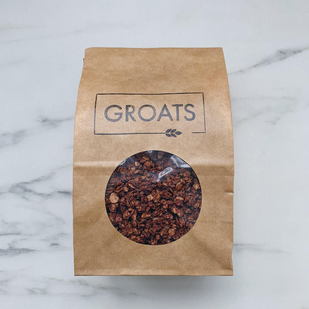 Groats Cacao Granola - Romaine Calm Scotland
