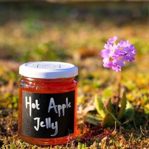 Hot Apple Jelly (8oz) - Penicuik House - Romaine Calm Scotland