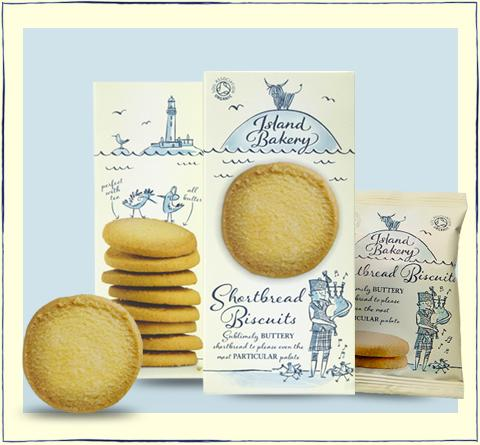 Island Bakery Shortbread (125g) - Romaine Calm Scotland