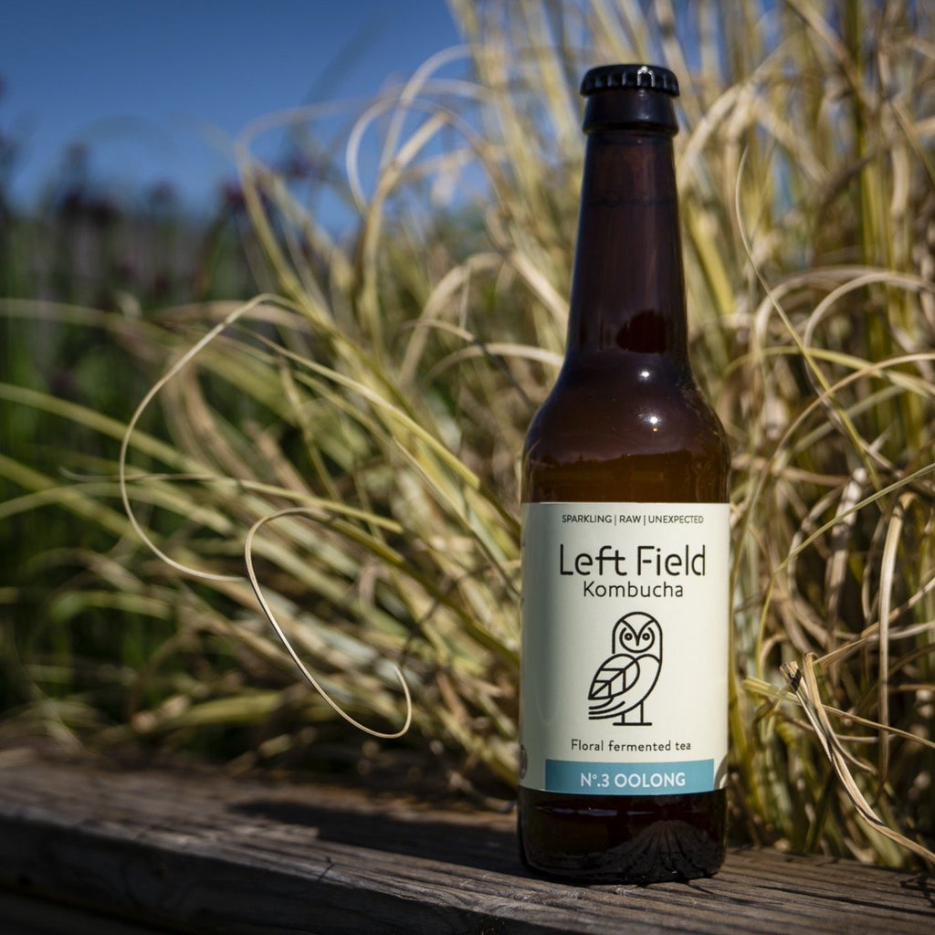 Leftfield Kombucha No.3 Oolong (330ml) - Romaine Calm Scotland