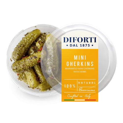 Mini Gherkins (180g) - Romaine Calm Scotland