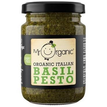 Organic Basil Pesto (130g) - Romaine Calm Scotland