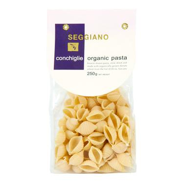 Organic Conchiglie Pasta (250g) - Romaine Calm Scotland