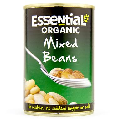 Organic Mixed Beans (410g) - Romaine Calm Scotland