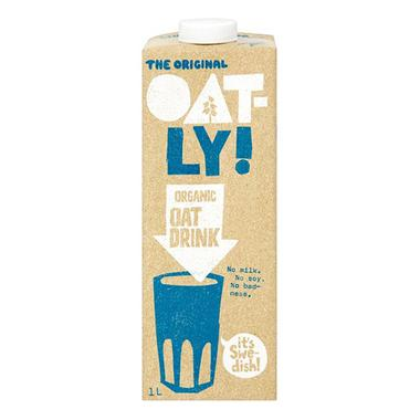 Organic Oatly Oat Drink - Romaine Calm Scotland
