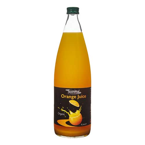 Organic Orange Juice (1litre) - Romaine Calm Scotland