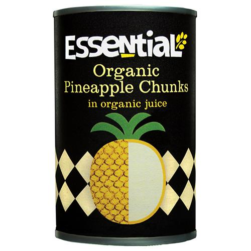 Organic Pineapple Chunks (400g) - Romaine Calm Scotland