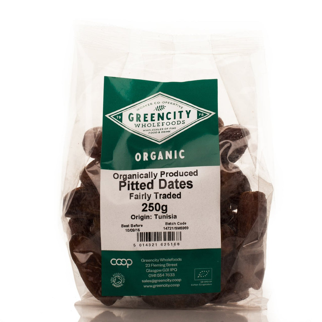 Organic Pitted Dates (250g) - Romaine Calm Scotland